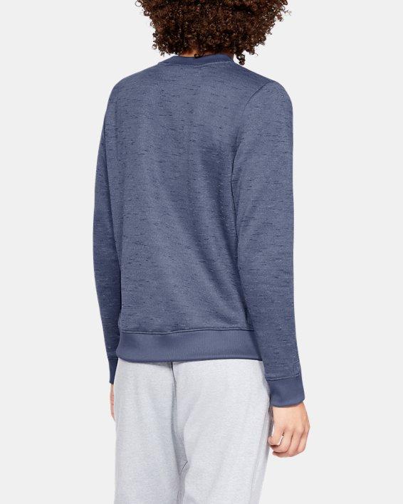 Haut à col ras du cou Armour Fleece® pour femme, Blue, pdpMainDesktop image number 2