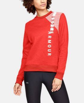 New to Outlet Women's Armour Fleece® Crew  1  Color Available $33