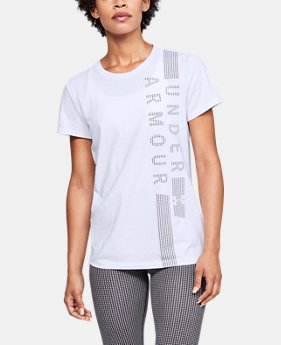 Women's UA Vertical T-Shirt  1  Color Available $25
