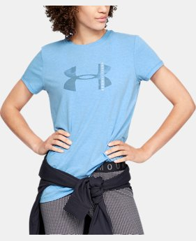 Women's UA Graphic Crew  4  Colors Available $25