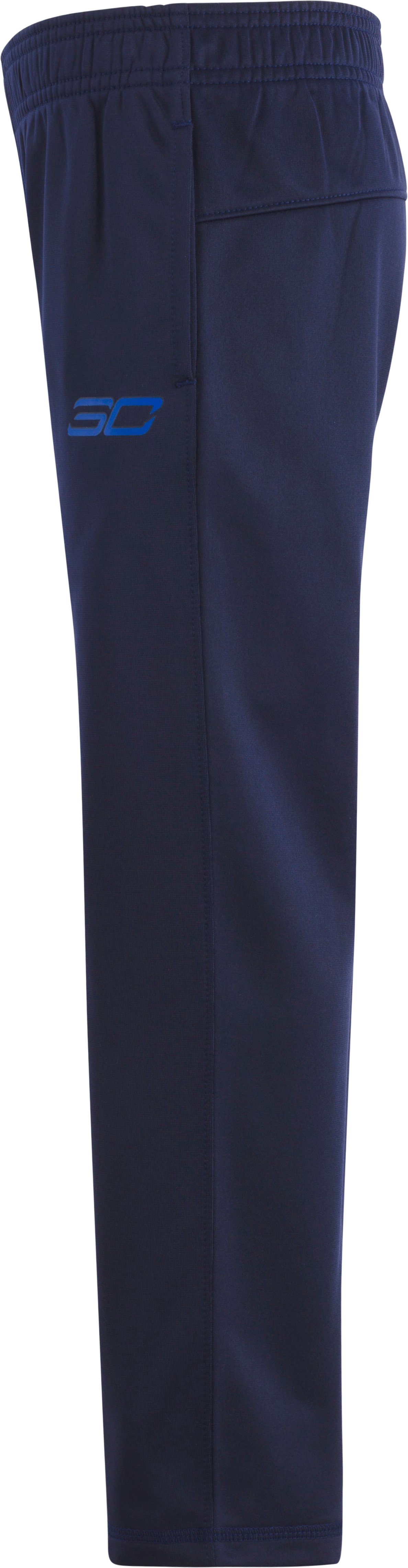 Boys' Pre-School SC30 Tricot Pants, Midnight Navy, Laydown