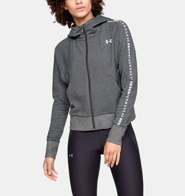 34a476b3e0 Women's UA Microthread Fleece Graphic Full Zip