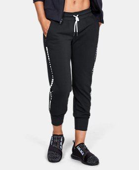 Women's UA Microthread Fleece Pants  3  Colors Available $75