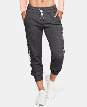 Women's UA Microthread Fleece Pants  4  Colors Available $60