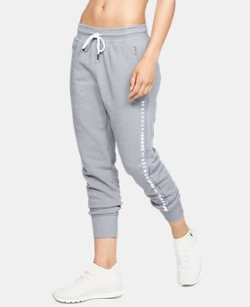 Women's UA Microthread Fleece Pants  1  Color Available $75