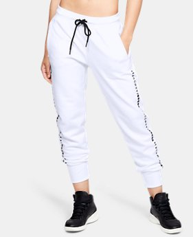 Women's UA Microthread Fleece Pants  1  Color Available $60