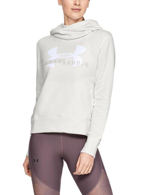 281355b6e3 Women's UA Rival Fleece Logo Hoodie