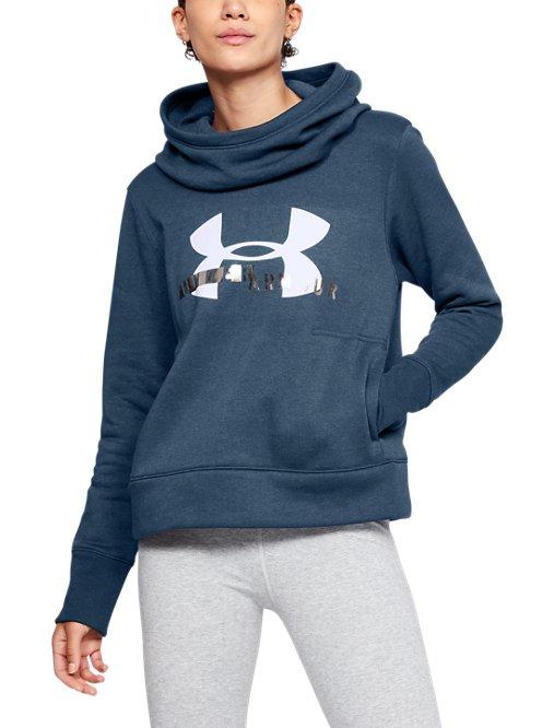 21305c964215 Women s UA Double Threat Armour Fleece® Hoodie