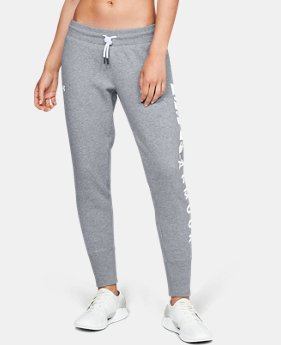 Women's UA Rival Fleece Pants  1  Color Available $70