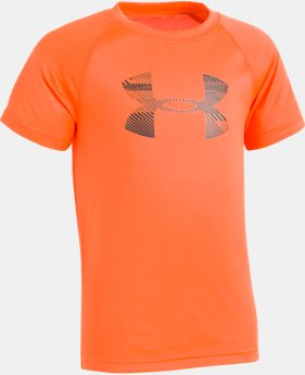 Boys' Toddler UA Speedlines Big Logo Short Sleeve  1 Color $10.49