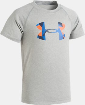 Boys' Toddler UA Geo Cache Big Logo T-Shirt   1  Color Available $21.99