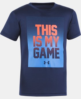 Boys' Toddler UA This Is My Game Short Sleeve Shirt  1 Color $13.99