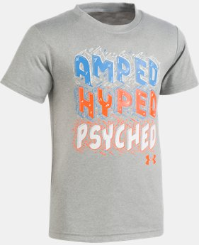 Boys' Pre-School UA AMPED Short Sleeve Shirt  1 Color $17.99