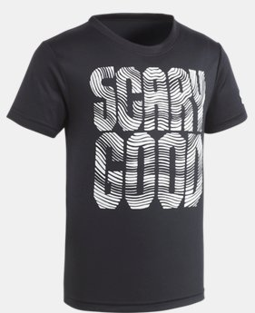 Boys' Pre-School UA Scary Good Short Sleeve Shirt  1 Color $17.99