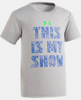 Boys' Toddler UA This Is My Show Short Sleeve Shirt  2 Colors $17.99