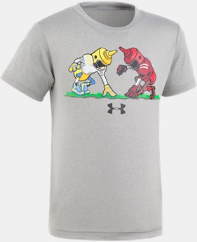 New Arrival Boys' Pre-School UA Mustard vs. Ketchup Short Sleeve  1 Color $17.99