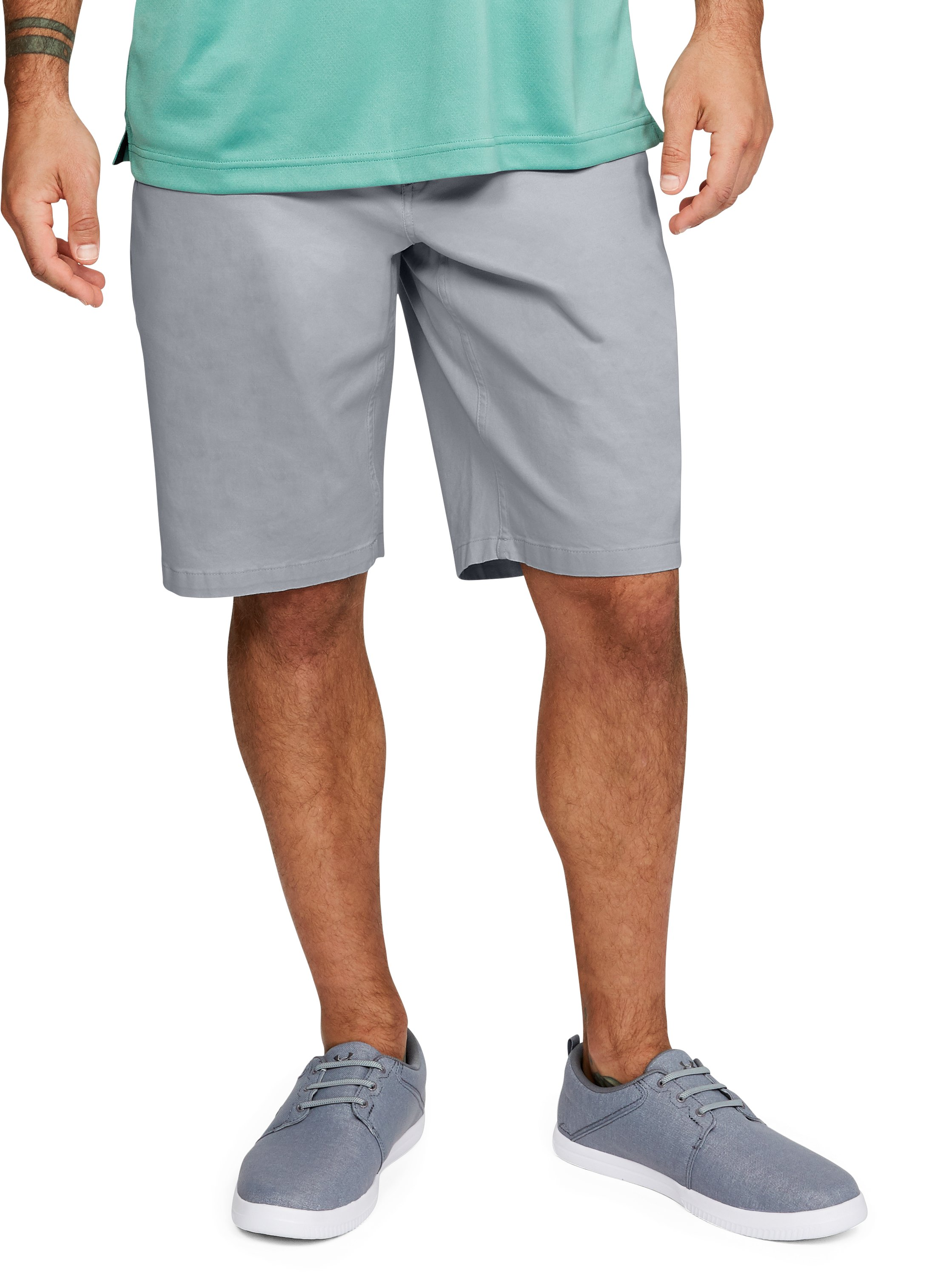 Men's UA Payload Shorts, OVERCAST GRAY