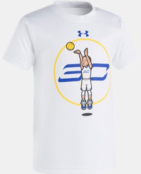 Boys' Pre-School SC30 Jump Shot Short Sleeve  1 Color $19.99