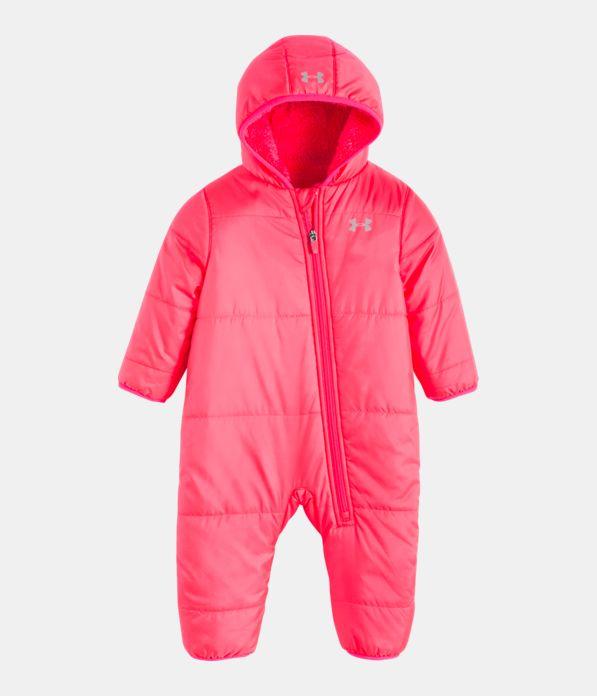 bf25a58c374a Girls  Newborn UA Bunting Snowsuit