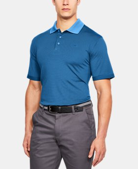 Men's UA Performance Polo Patterned  4 Colors $60