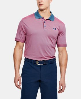 Men's UA Performance Polo Patterned  2 Colors $70