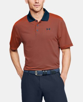Men's UA Performance Polo Patterned  3  Colors Available $60