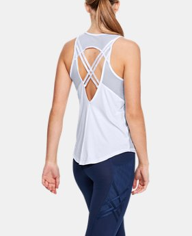Women's UA Pinnacle Tank  1  Color Available $50