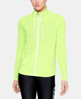 New Arrival Women's UA Tech™ Twist Full Zip  1  Color Available $55
