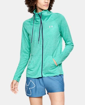 Women's UA Tech™ Twist Full Zip  2  Colors Available $55