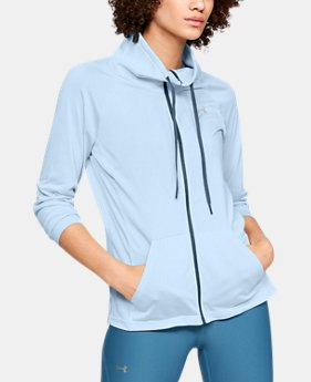 New Arrival  Women's UA Tech™ Twist Full Zip  1  Color Available $70