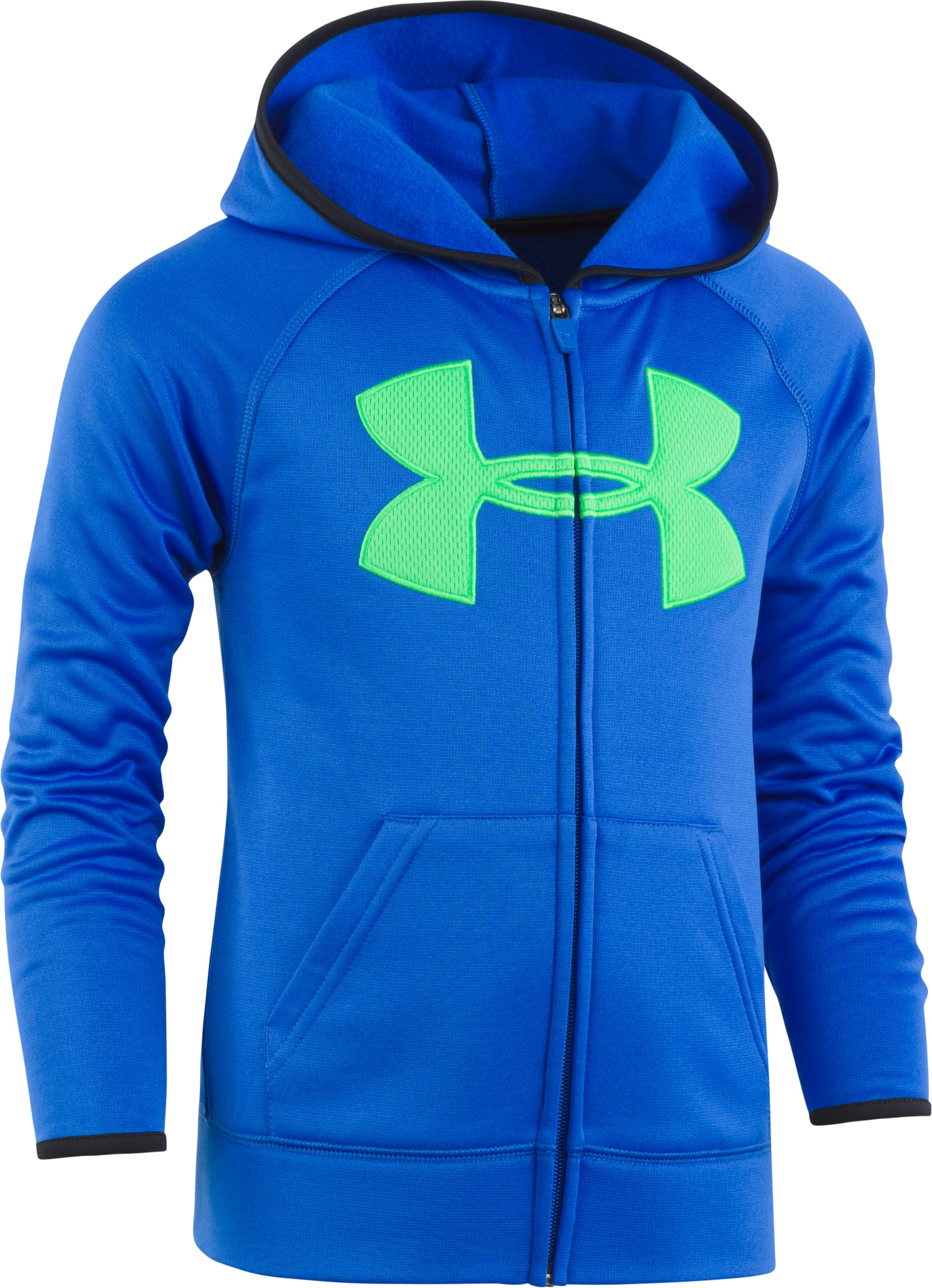 Boys' Toddler UA Big Logo Hoodie, ULTRA BLUE, Laydown