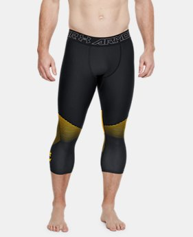 Men's UA x Project Rock Vanish Leggings  1  Color Available $60