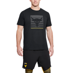 7cb32858 Men's Project Rock Above The Bar Short Sleeve T-Shirt | Under Armour CA