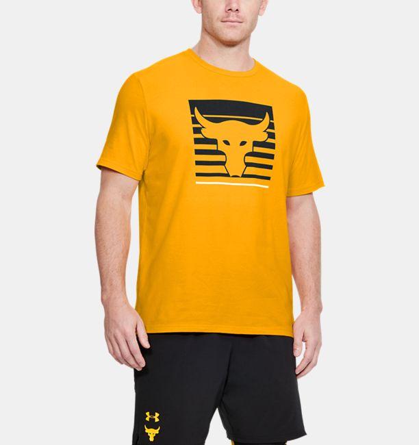 4550568a Men's Project Rock T-Shirt