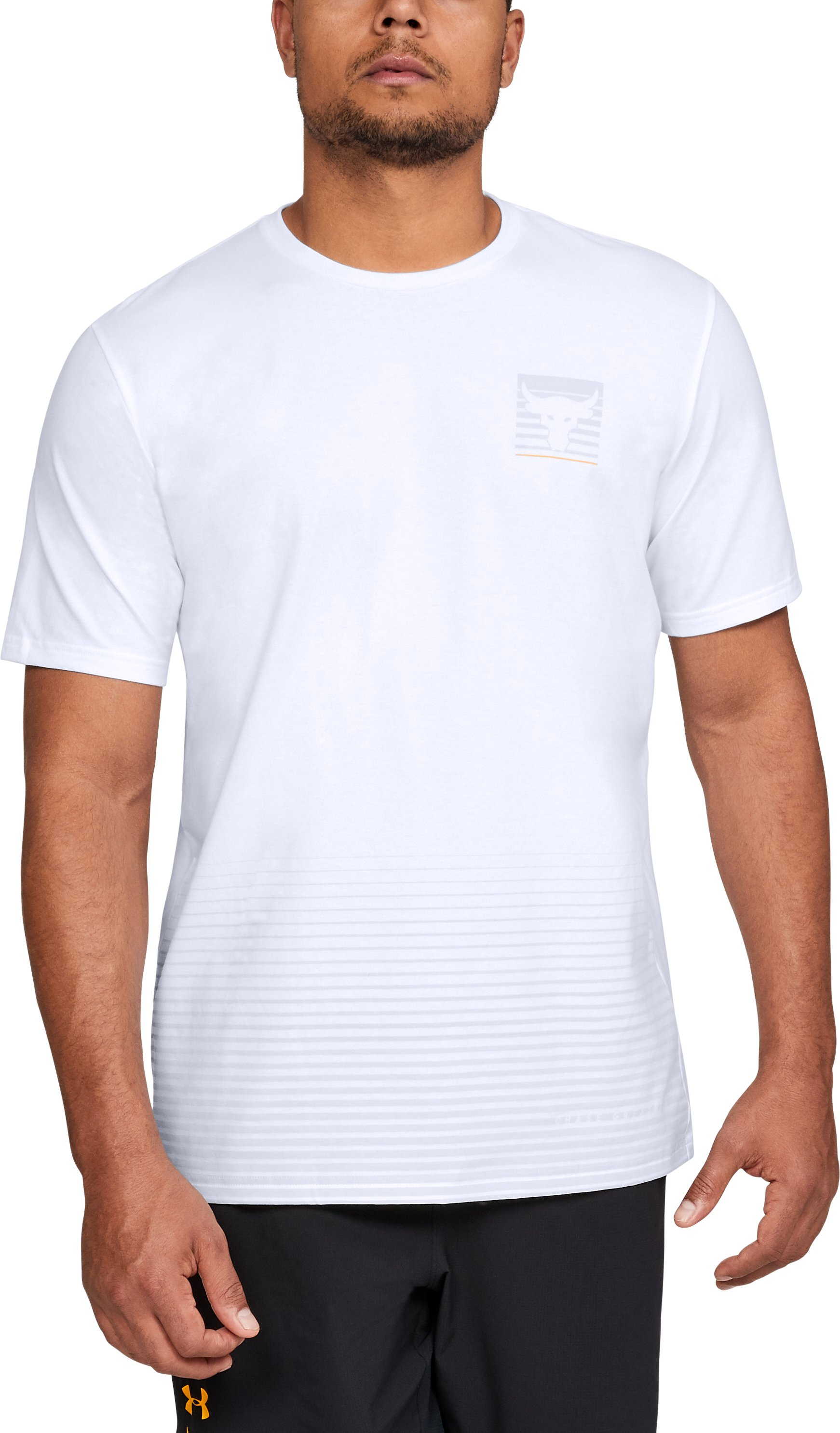 Men's UA x Project Rock T-Shirt, White