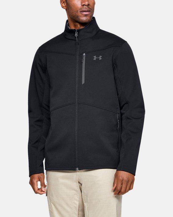 Men's ColdGear® Infrared Shield Jacket, Black, pdpMainDesktop image number 0