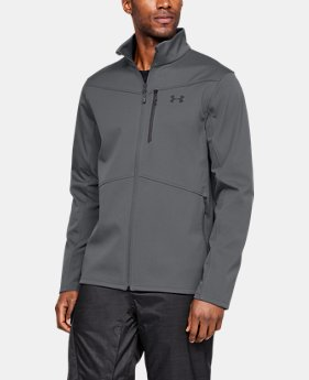 Men's ColdGear® Infrared Shield Jacket  1  Color Available $100