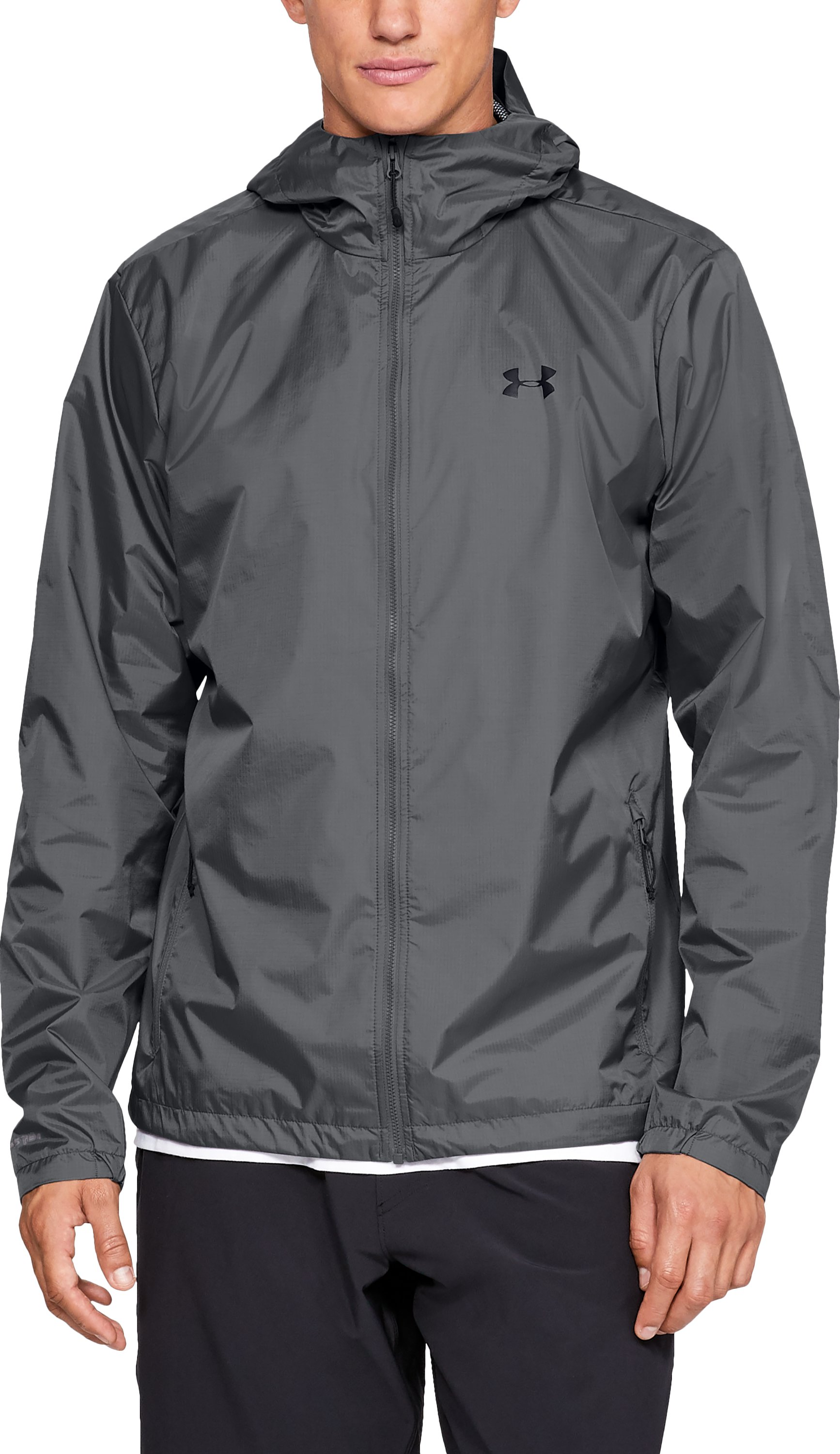 Men S Ua Forefront Rain Jacket Under Armour Hk