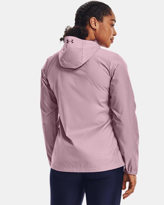 Veste UA Forefront Rain pour femme, Pink, pdpMainDesktop image number 2