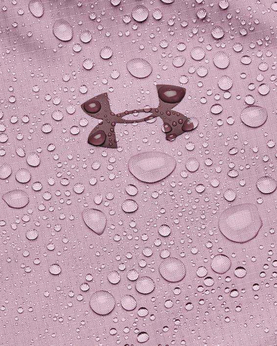 Veste UA Forefront Rain pour femme, Pink, pdpMainDesktop image number 6