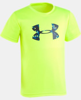 New Arrival Boys' Pre-School UA Digi Camo Big Logo T-Shirt  1  Color $17.99