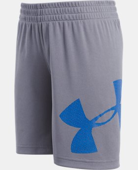 New Arrival Boys' Pre-School UA Zoom Striker Shorts  4  Colors $21.99