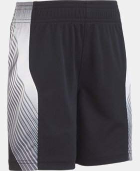 Boys' Pre-School UA Space The Floor Short  1  Color Available $21.99
