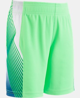 New Arrival Boys' Pre-School UA Space The Floor Short  3  Colors $21.99