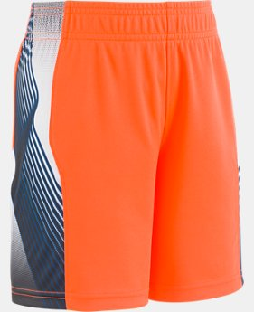 New Arrival Boys' Pre-School UA Space The Floor Short  1  Color Available $21.99