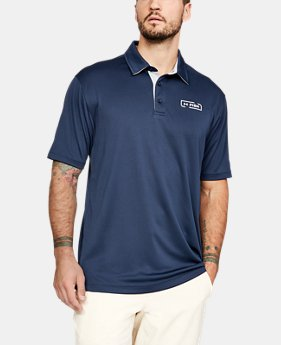 Men's UA Fish Tech Polo  1  Color Available $40
