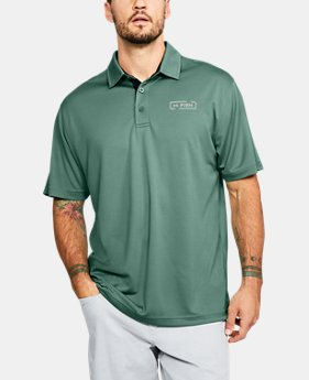 Men's UA Fish Tech Polo FREE U.S. SHIPPING 6  Colors Available $40