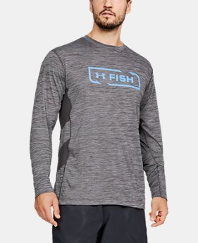 Men's UA Fish Hunter Icon Long Sleeve  5  Colors Available $45