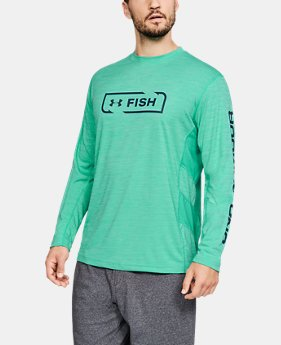 Men's UA Fish Hunter Icon Long Sleeve  4  Colors Available $40
