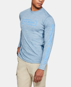 Men's UA Fish Hunter Icon Long Sleeve   $40